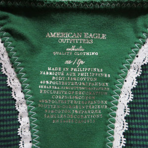 American Eagle Outfitters Tops - American Eagle Outfitters top XS racerback striped